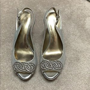 Heels perfect for a formal event.